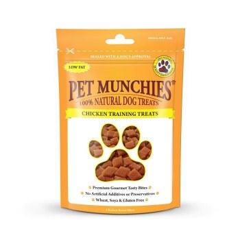 PET MUNCHIES CHICKEN TRAINING TREAT150G