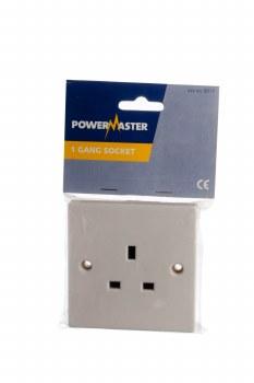 POWERMASTER 1 GANG 13 AMP SOCKET
