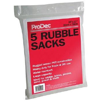 PRODEC 5 WOVEN RUBBLE SACKS