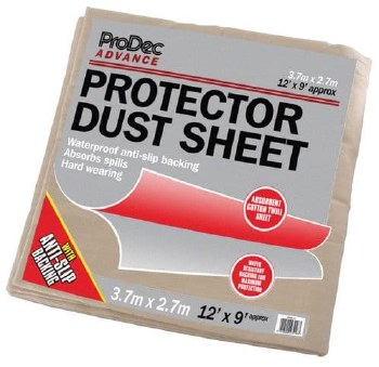 PRODEC CRPR129 DUST SHEET WITH POLY BACK