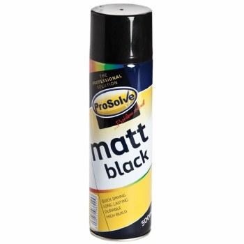 PROSOLVE MATT BLACK SPRAY PAINT