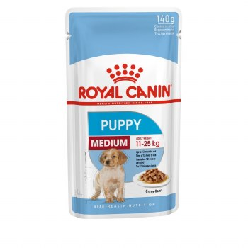 ROYAL CANIN MEDIUM PUPPY 140G POUCH