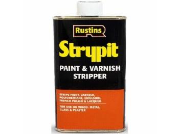 RUSTINS STRYPIT PAINT & VARNISH REMOVER 500 ML