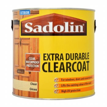SADOLIN EXTRA DURABLE CLEARCOAT GLOSS 1LITRE