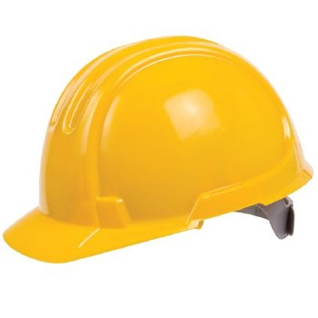 SAFETY HELMETS ( YELLOW/WHITE)