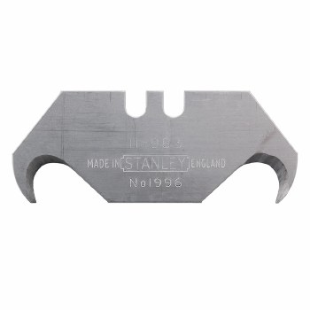 STANLEY 1996 HOOKED BLADES 5 PACK