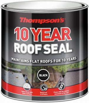 THOMPSONS 10 YEAR ROOF SEAL BLACK 2.5 LTR