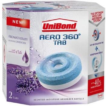 UNIBOND AERO 360 REFILL LAVENDER GARDEN(2 X 450GRM)
