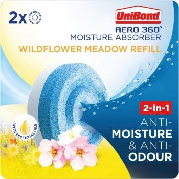 UNIBOND AERO 360 REFILL WILDFLOWERS (2 X 450GRM)