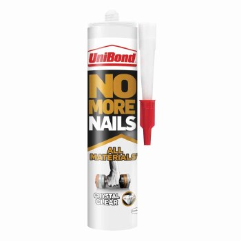 UNIBOND NO MORE NAILS CRYSTAL CLEAR 290G