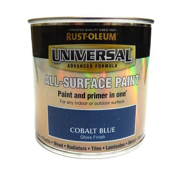 Rust-Oleum Gloss Finish Universal Metal and All-Surface Paint – COBALT BLUE 250ML
