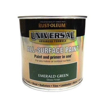 Rust-Oleum Gloss Finish Universal Metal and All-Surface Paint – EMERALD GREEN 250ML