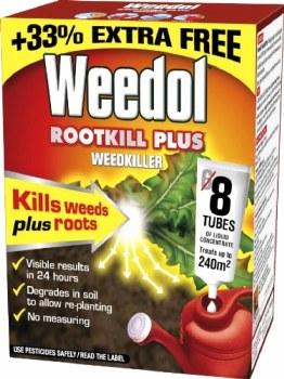 WEEDOL 8 TUBE ROOTKILL PLUS