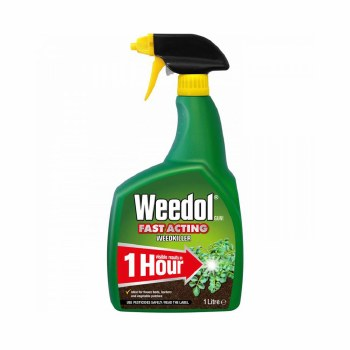 WEEDOL GUN FAST ACTING WEEDKILLER READY TO USE 1 LITRE