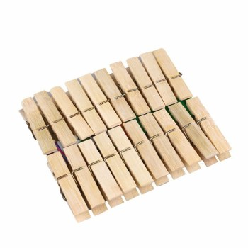 40 WOODEN PEGS