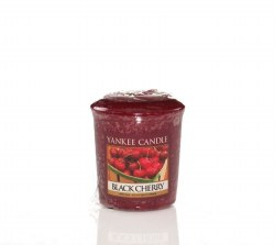 YANKEE CANDLE BLACK CHERRY VOTIVE CANDLE