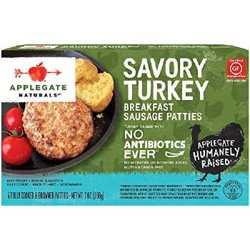 Turkey Sausage Patties