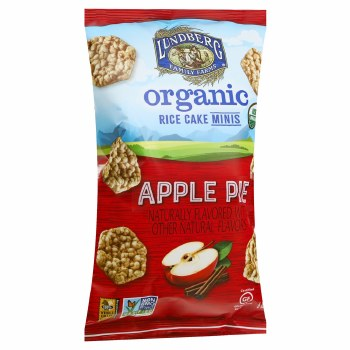 Apple Pie Mini Rice Cakes, Organic