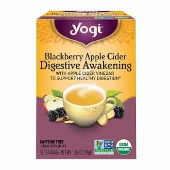 Blackberry Apple Cider Digestive Awakening Tea