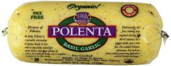 Garlic Basil Polenta, Organic
