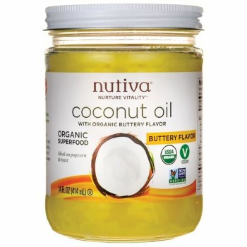 Buttery Coconut Oil, Organic