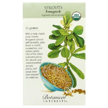 Fenugreek Seeds, Organic