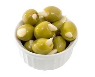 Garlic-stuffed Olives