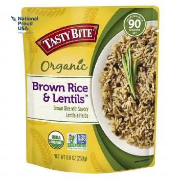 Brown Rice with Lentils, Organic