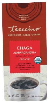 Chaga Ashwaganda Herbal Coffee, Organic
