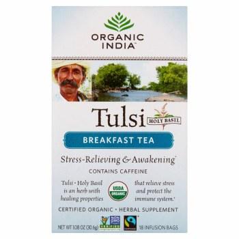 Breakfast Tulsi Tea