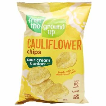 Cauliflower Chips, Sour Cream