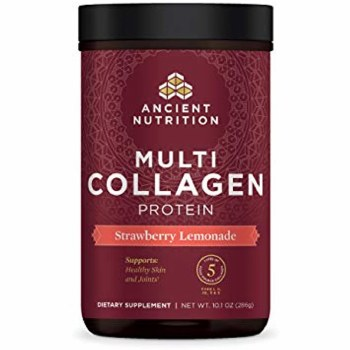 Multi Collagen Protein, Strawberry Lemonade