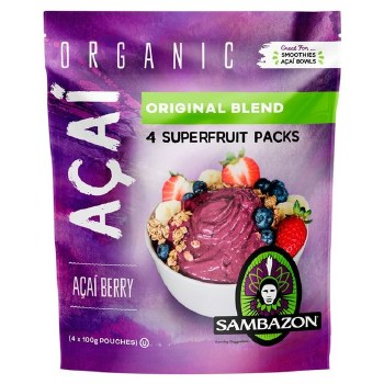 Acai Smoothie Pack, Organic