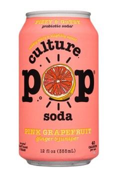 Grapefruit Ginger Prebiotic Soda