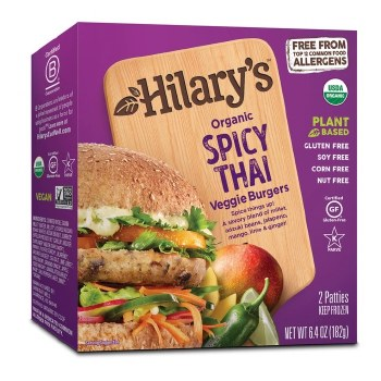 Burger, Spicy Thai
