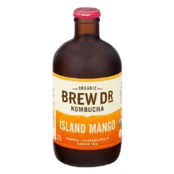 Island Mango Kombucha, Organic