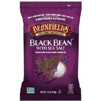 Black Bean Sea Salt Chips