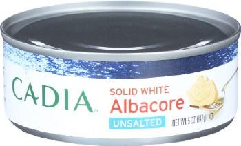 Albacore Tuna, No Salt