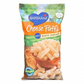 Cheese Puffs, White Cheddar