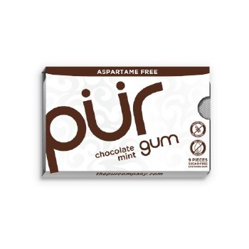 Chocolate Mint Gum 9pcs