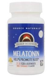 Melatonin 2.5 mg, Orange Flavor