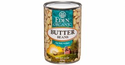 Butter Beans, No Salt, Organic