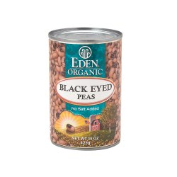 Black Eyed Peas, No Salt, Organic