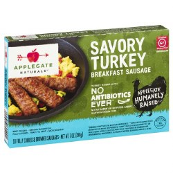 Savory Turkey Sausage