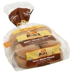 Organic Whole Wheat Burger Buns