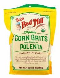 Corn Grits, Organic