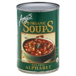 Alphabet Soup, Organic