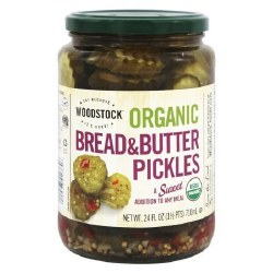 Bread & Butter Pickles, Organic