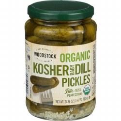 Baby Kosher Dill Pickles, Organic