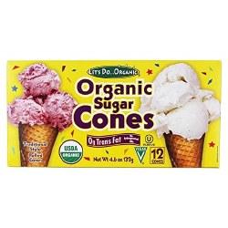 Sugar Cones, Organic
